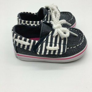 Sperry Topsider Bahama Jr Crib Shoes Sneakers Deni